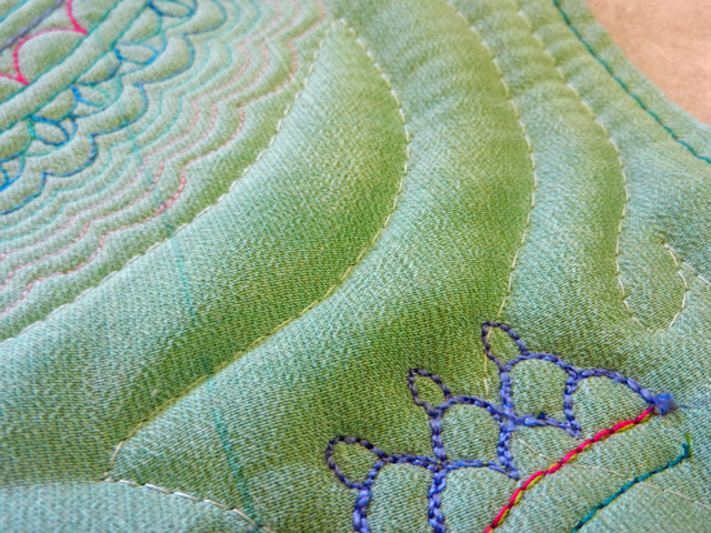 Work In Process-Playing With Thread and Color