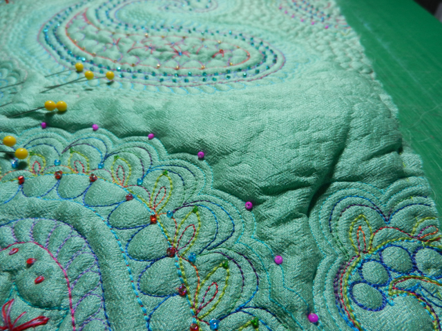 Mountains of puff to quilt in!