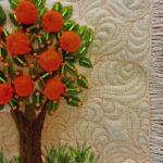 Little Orange Tree Quilt