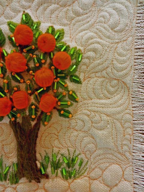 Little Orange Tree-Detail 1