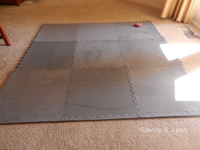 New quilt blocking surface