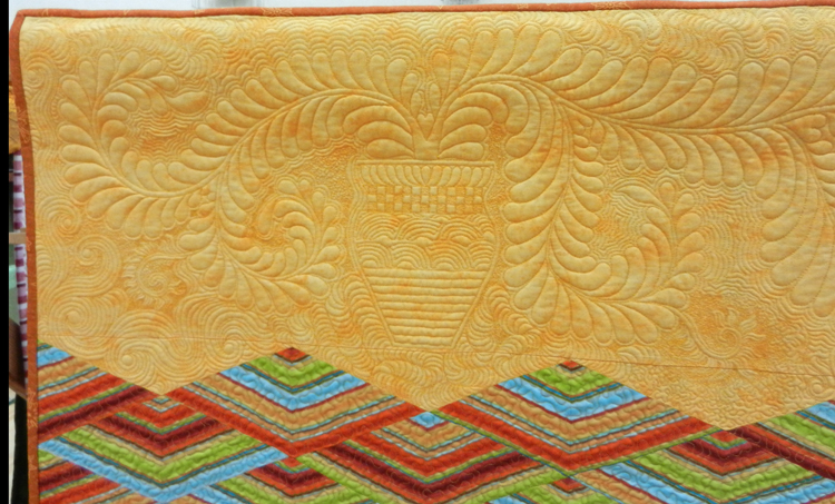 Detail-Not Entirely Modern: Luanne Chittenden-Maker and Quilter