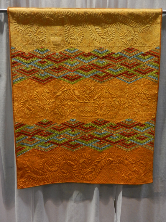 Luanne Chittenden, Not entirely modern, Honorable Mention, Traditional Quilts, PIQF 2014