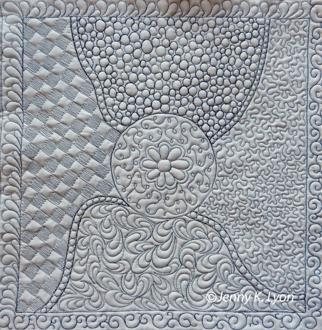 Sample-Intro to Fearless Free Motion Quilting