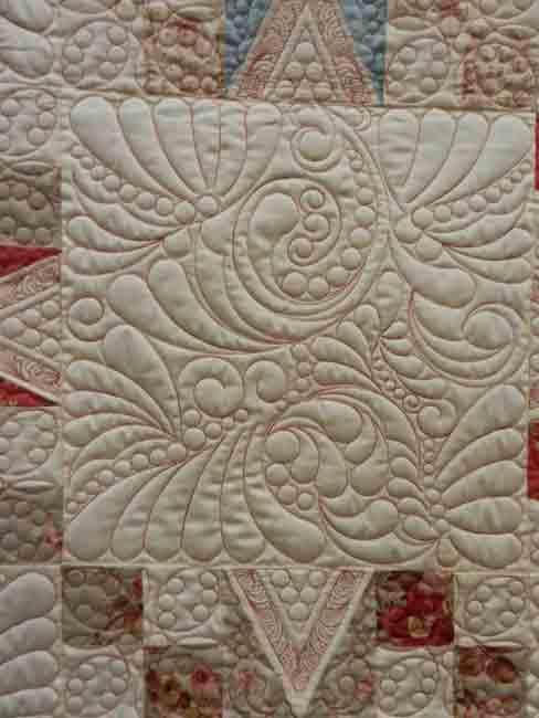 Detail-Sherbet Stars for Tiffany; Sandi Fong