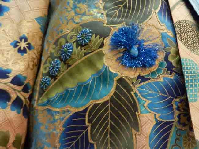 Detail-Hoffman Challenge Garment; Tonja McCarthy