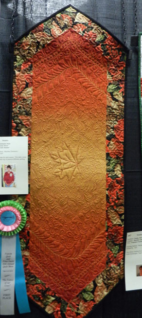 Fall Table Runner; Suzie Quinnell