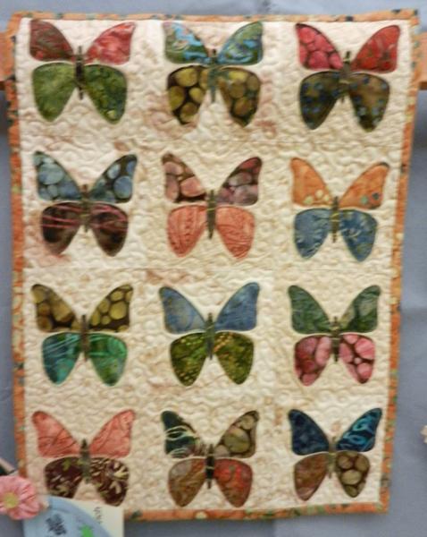 Gold Bug Quilt Show 2015   Quilt Skipper: Jenny K Lyon   Quilting ... : butterflies quilt - Adamdwight.com