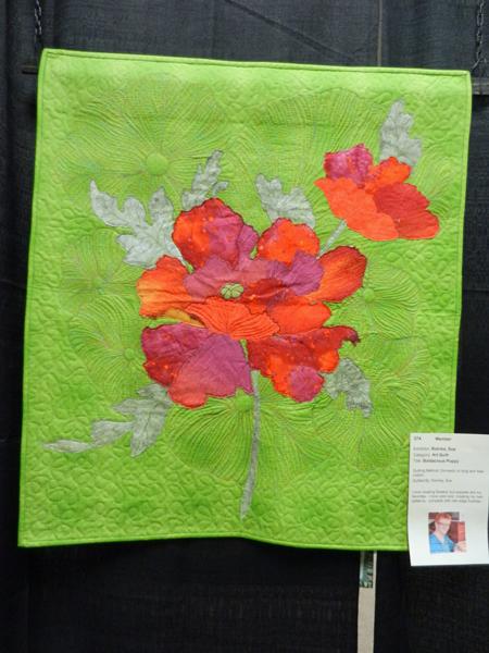 Boldacious Poppy, Sue Rohrke