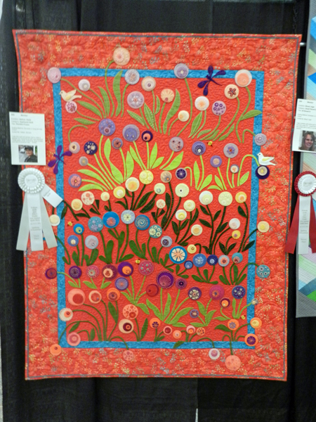 Plentiful Posies: Karla Delner, quilted by Shireen Hatten #205