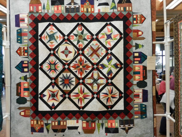 Downtown; Debi Henry, quilted by Shireen Hatton #114
