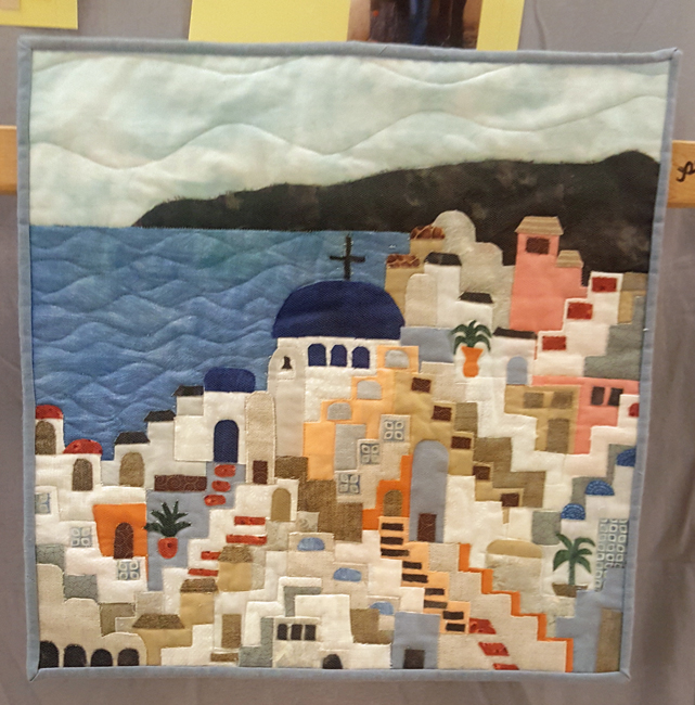 Vacation to Greece, Beverly Schwarzberg