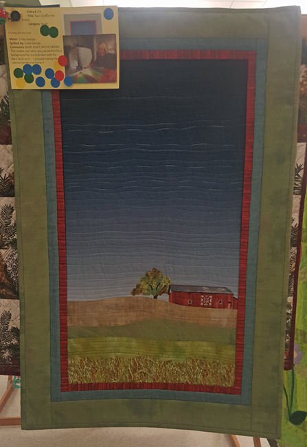 Barn Quilt on the Prairie, Linda George